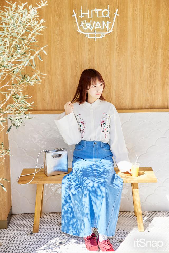 大学三年、アイドル・美澄ささらサン/21歳(163cm)