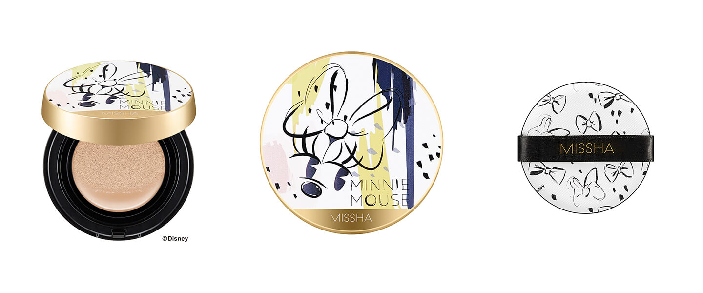 M クッションファンデーション(プロカバー) ディズニー限定デザイン NO.23 自然な肌色/1,650円(税込み)