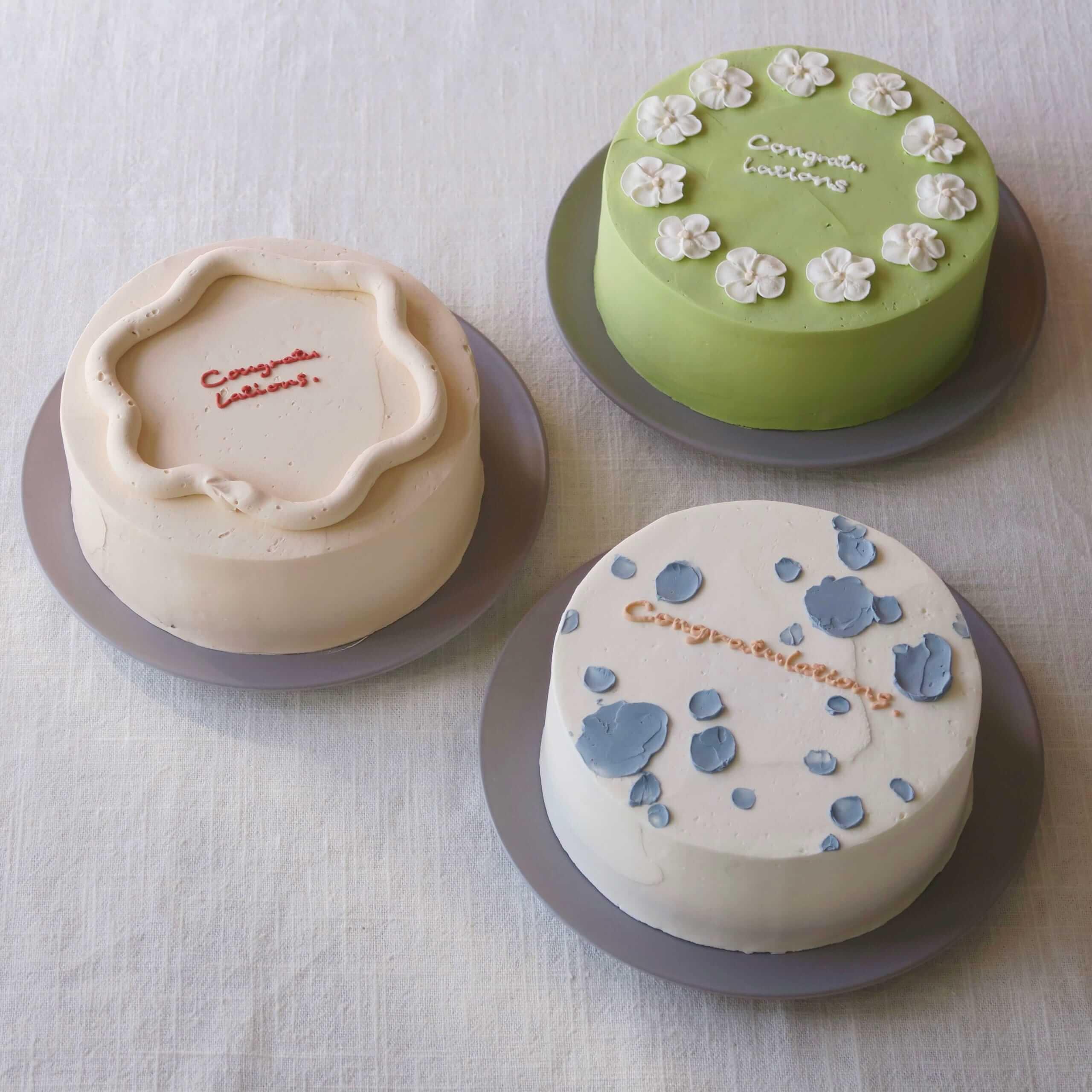YUcake(ユーケイク)のケーキ3種