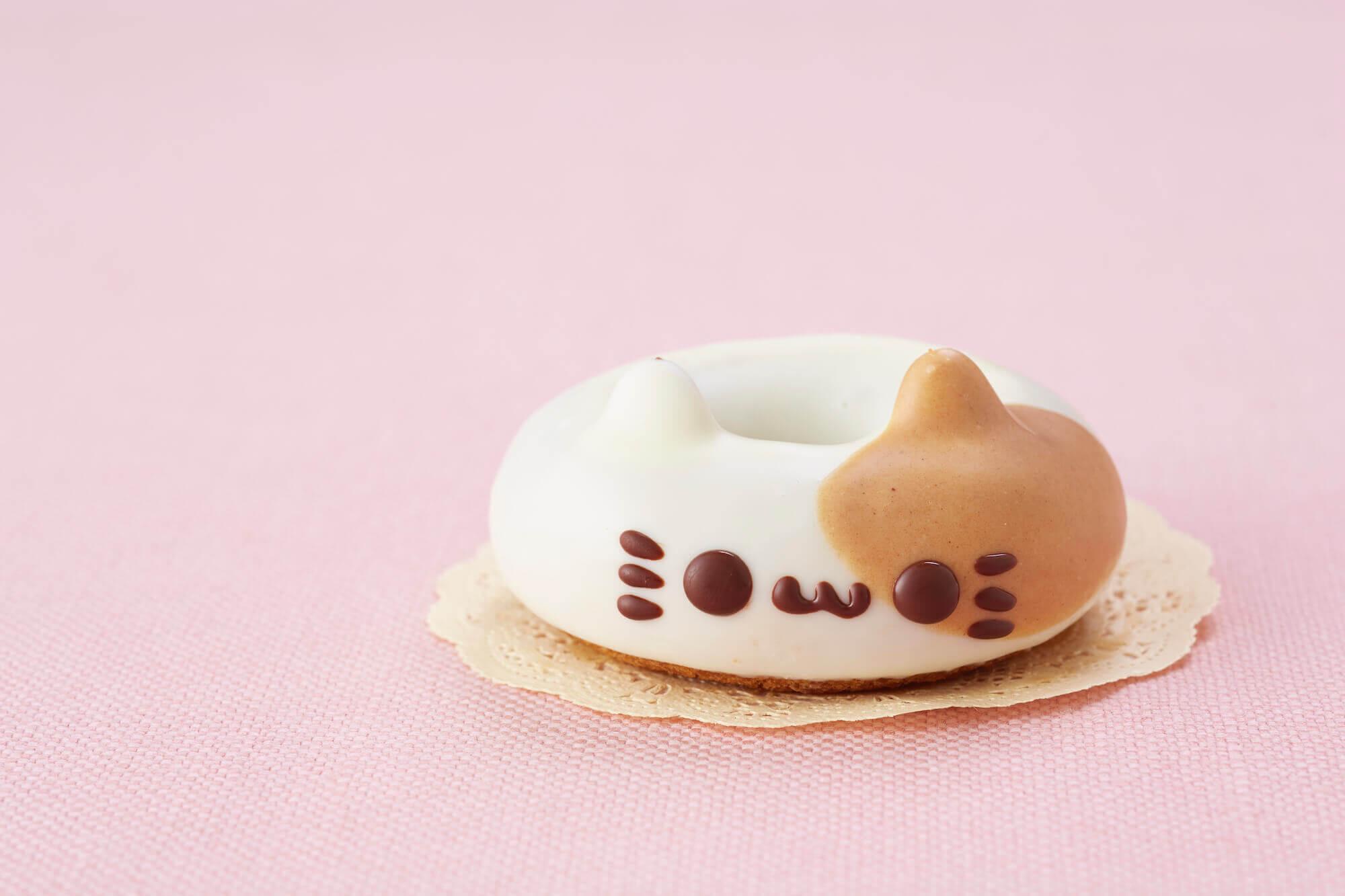 イクミママのどうぶつドーナツ!のこねこのミケ(店頭販売価格)/¥280(税込み)