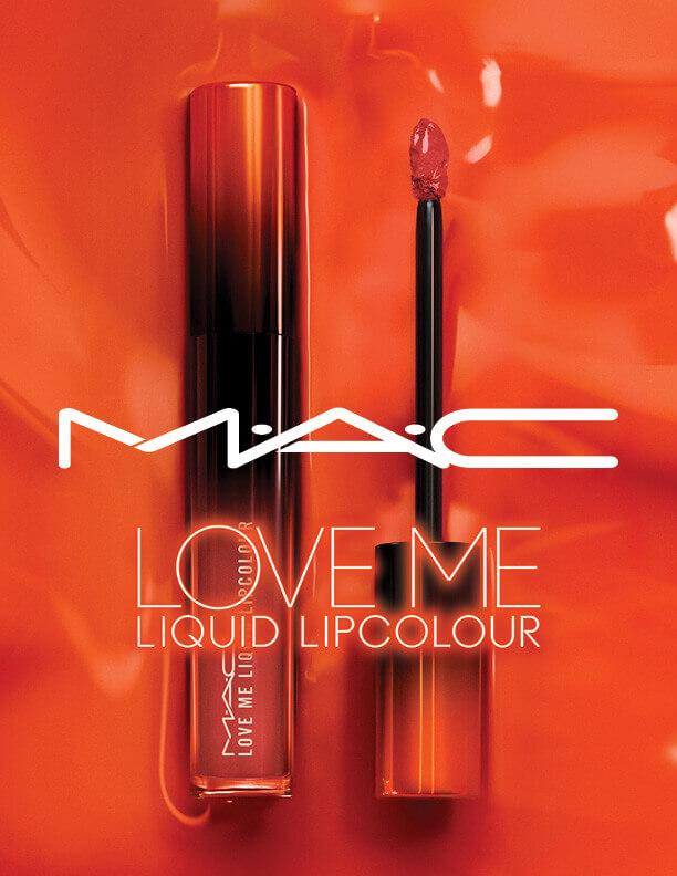 M·A·C(マック)ラブ ミー リキッド リップカラーのオレンジカラー