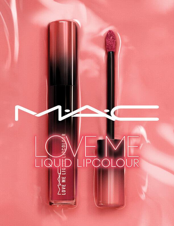 M·A·C(マック)ラブ ミー リキッド リップカラーのピンクカラー