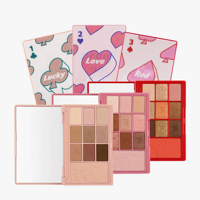 I'M HIDDEN CARD PALETTE(アイム ヒドゥン カードパレット) 全3色/各¥2,750(税込み)