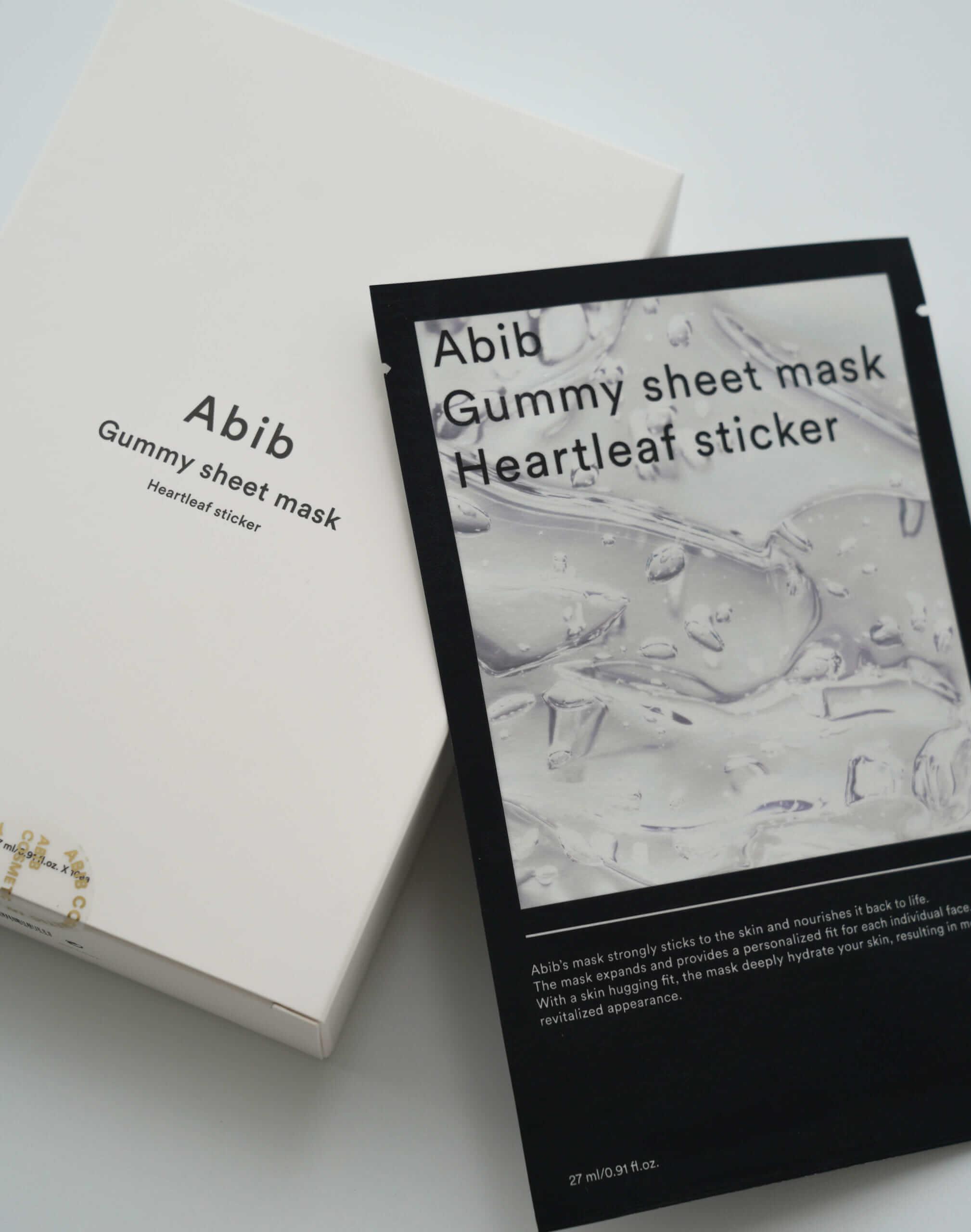 韓国コスメ「Abib(アビブ)」アビブ ガムシートマスクドクダミステッカー 10枚入り/¥4,800(税込み)