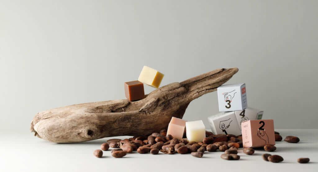 チョコレート専門店から生まれたスキンケア「YAECO(ヤエコ)」のチョコ型バーソープがおしゃれでS…
