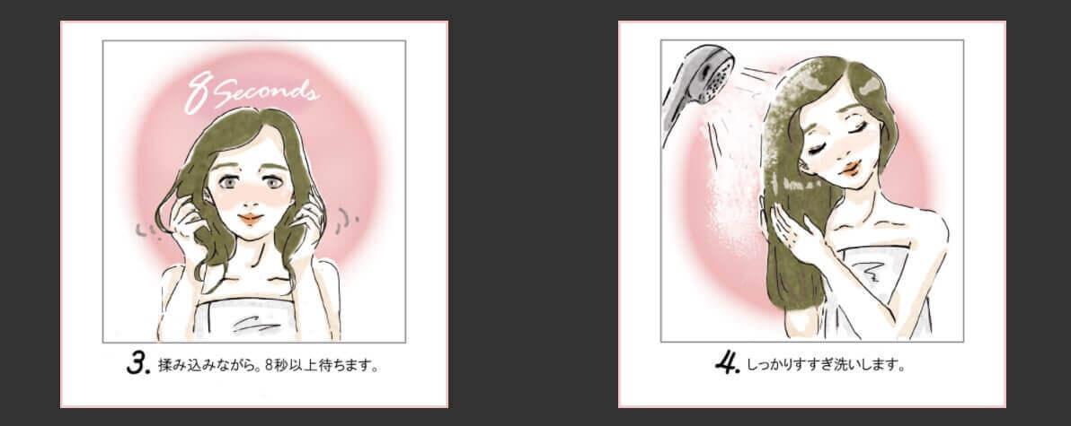 Miss Esme(ミスエスメ)の使い方イラスト