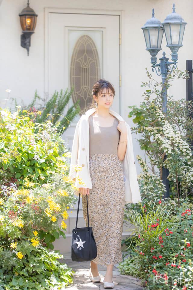 モデル、女優・多田柚那サン/24歳(161cm)