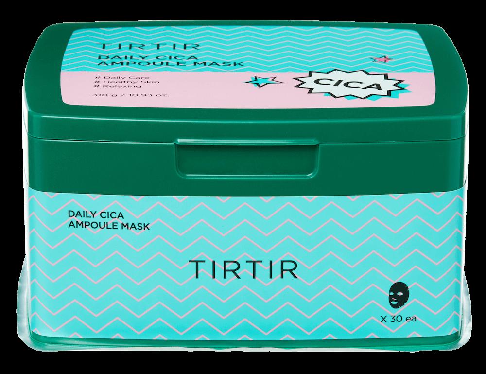 TIRTIR(ティルティル)のデイリーシカアンプルマスク 30枚入りのパッケージ
