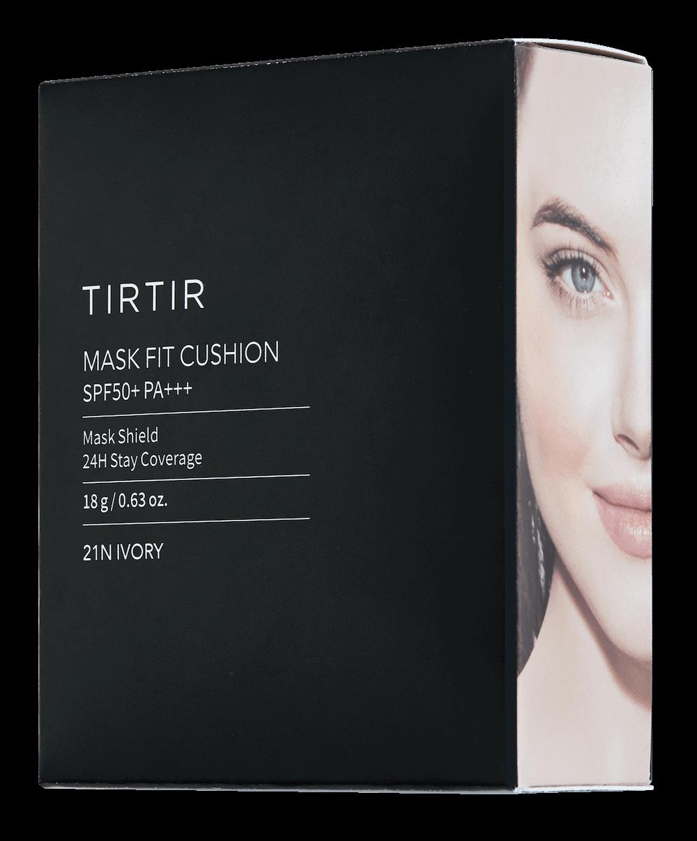 TIRTIR(ティルティル)のマスクフィットクッションのパッケージデザイン