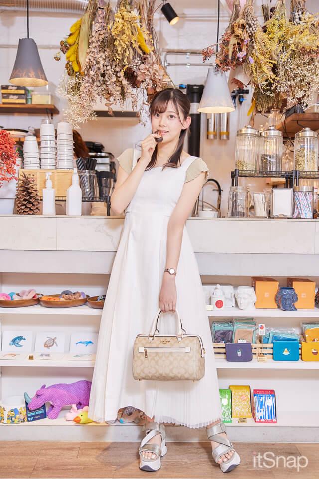 会社員・野﨑夏凜サン/22歳(156cm)