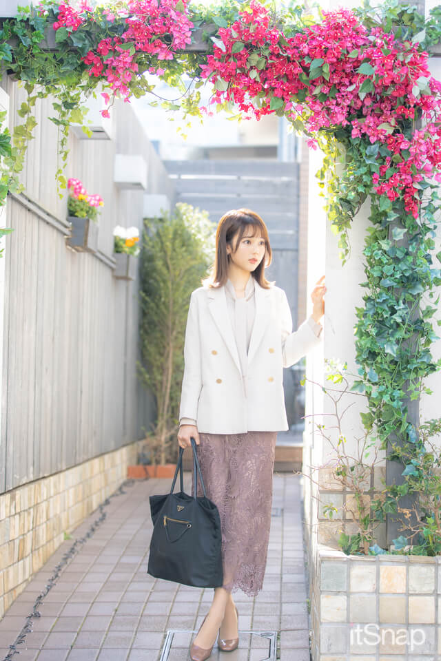 OL・米田栞里サン/22歳(162cm)