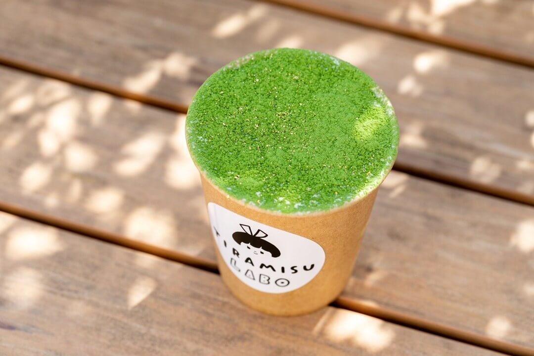 ティラミスラボの抹茶ティラミス/¥580(税込み)