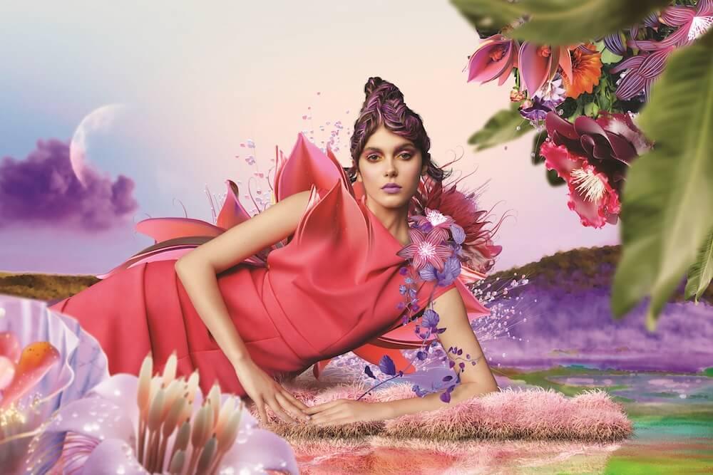 M·A·Cの2021年夏コスメ「ボタニック パニック」キービジュアル