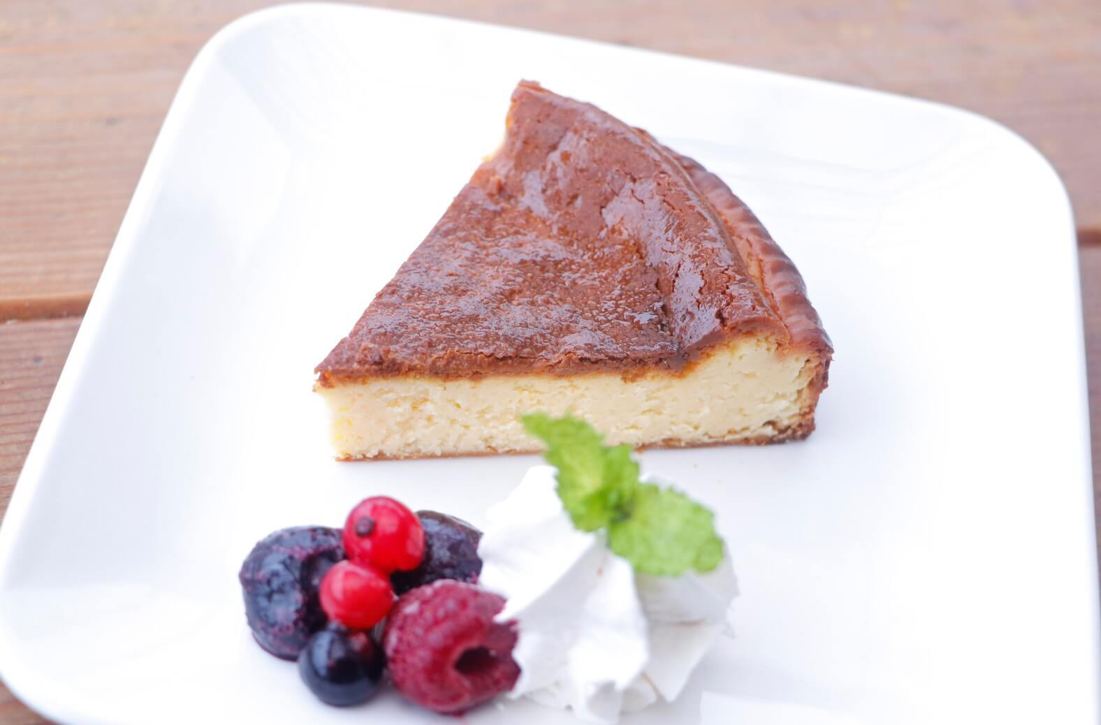 The Holiday LOUNGE(ザ ホリデイ ラウンジ)の糖質制限チーズケーキ/¥500(税込み)