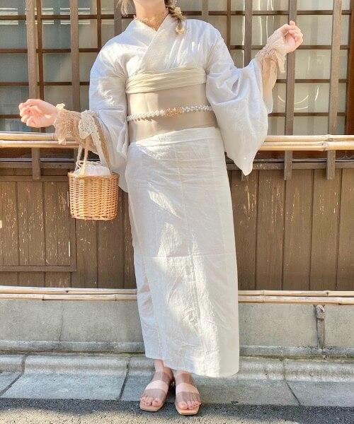 「nemne(ネンネ)」の浴衣/¥ 7,995(税込み)