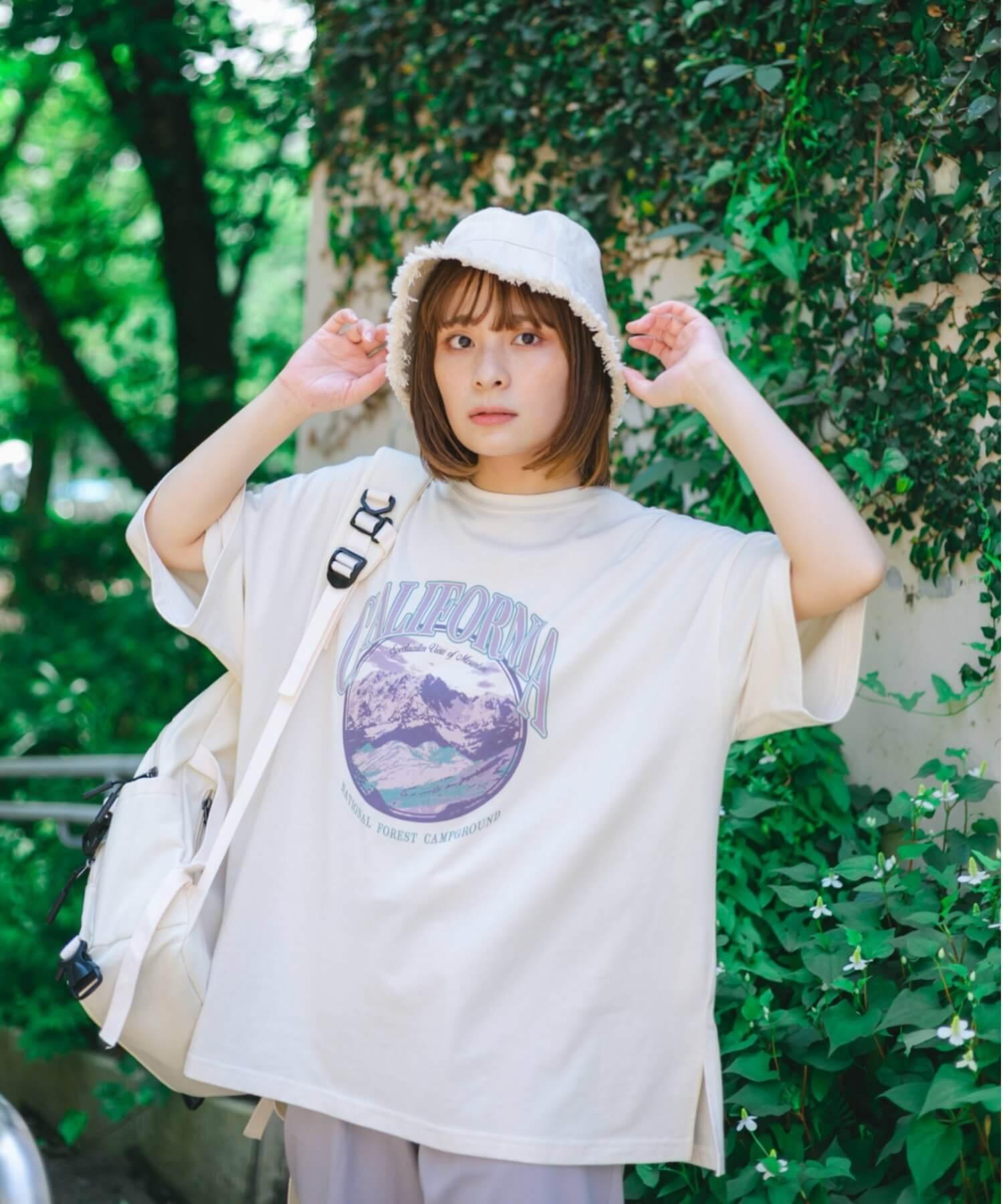 「nemne(ネンネ)」のアソートプリントT/¥1,695(税込み)