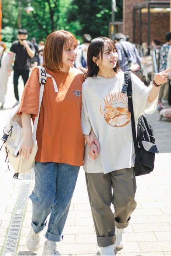 「nemne(ネンネ)」のアソートバルーンパンツの着用イメージ