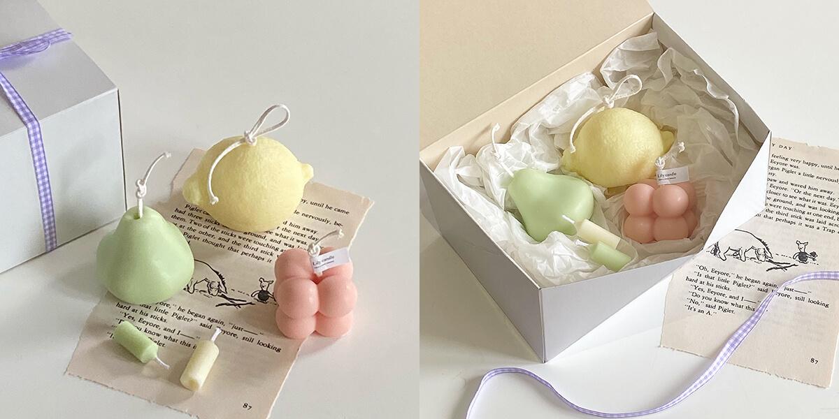 Lily candle(リリーキャンドル)のpicnic box/¥1,980(税込み)