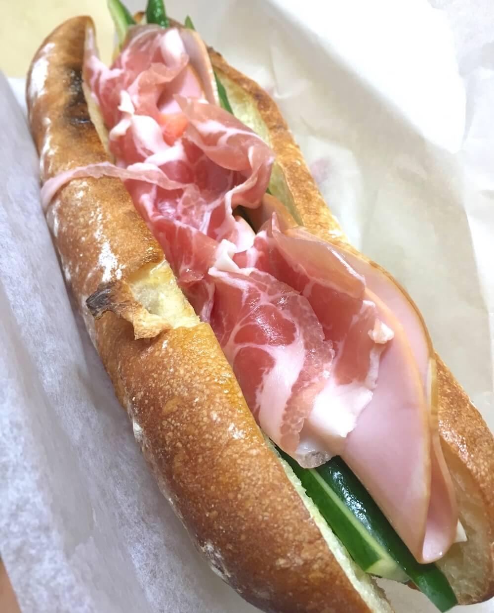 イタリアンバケットサンドイッチ/¥1,090(税込み)