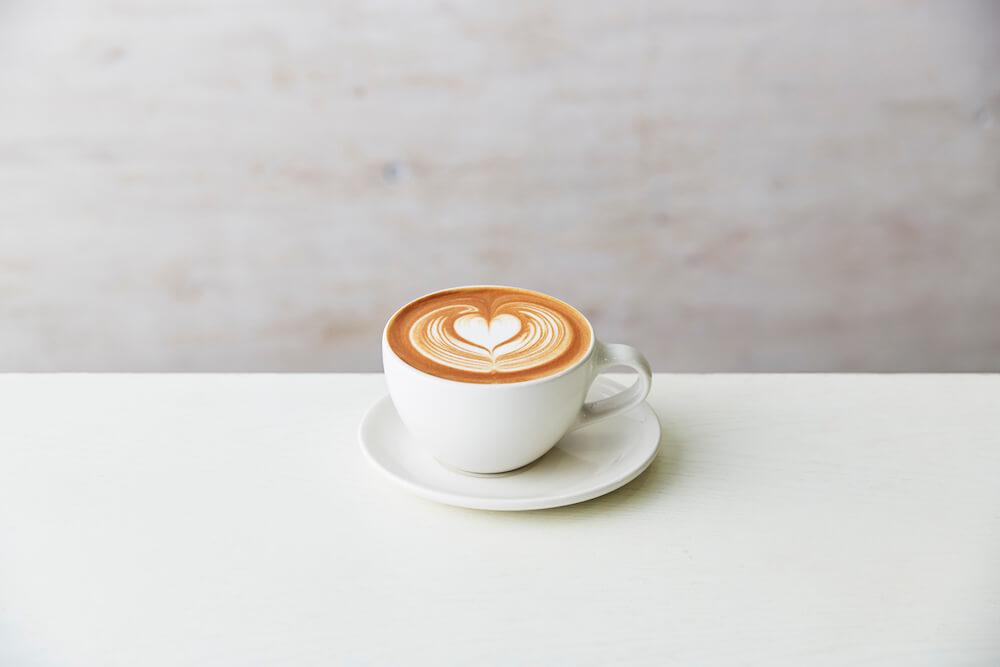 ブルーボトルコーヒー 渋谷カフェのカフェラテ