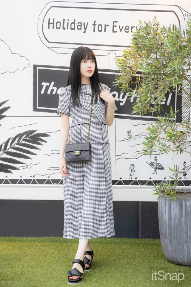 日本女子大学四年・戸川栞那サン/21歳(158cm)