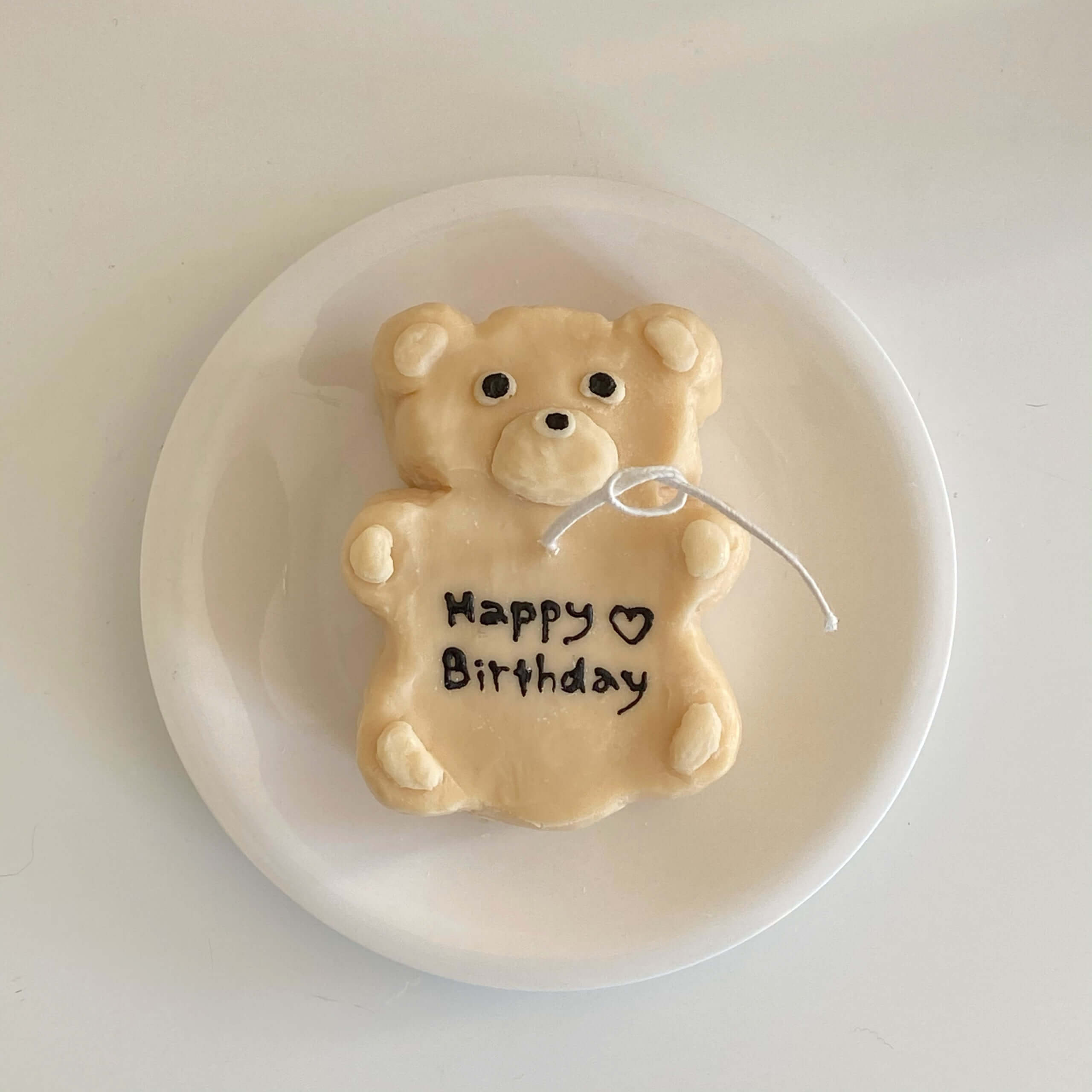 Lily candle(リリーキャンドル)のbear cake candle/¥2,800(税込み)