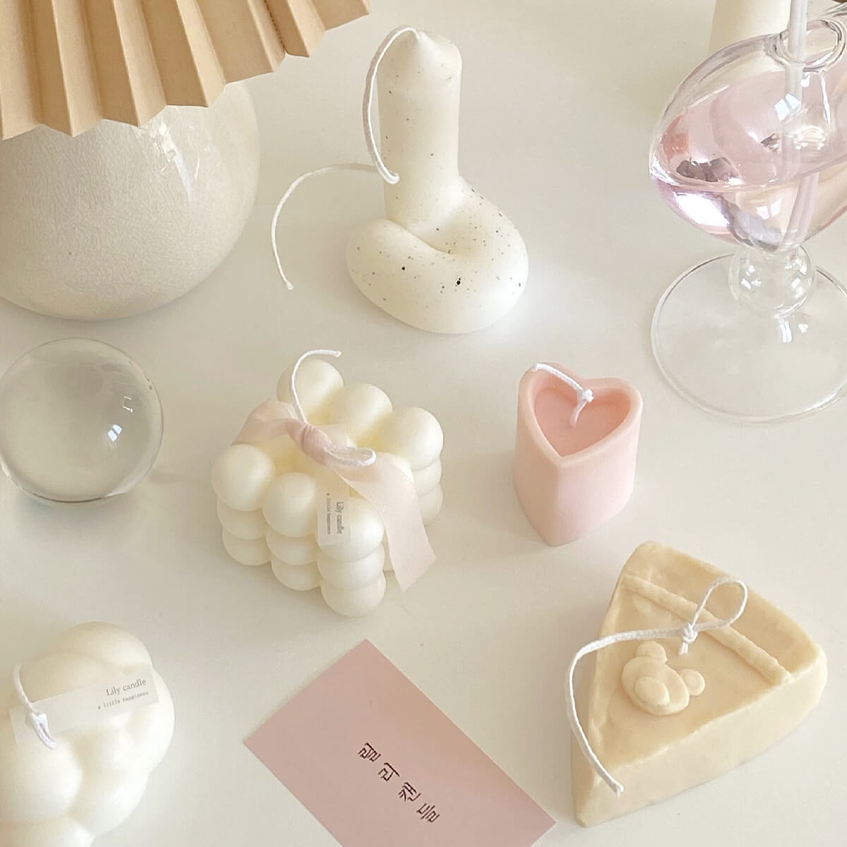Lily candle(リリーキャンドル)の韓国キャンドル