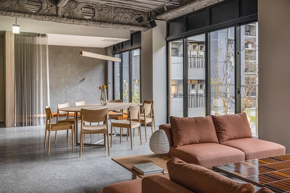 ブルーボトルコーヒー 渋谷カフェのソファ席