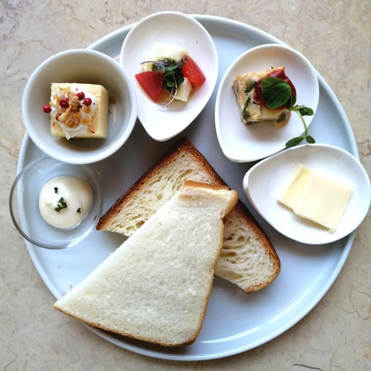 cafe terrace & bistro Queencyの前菜セット