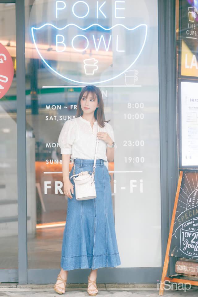 サロンモデル・石田唯那サン/31歳(157cm)