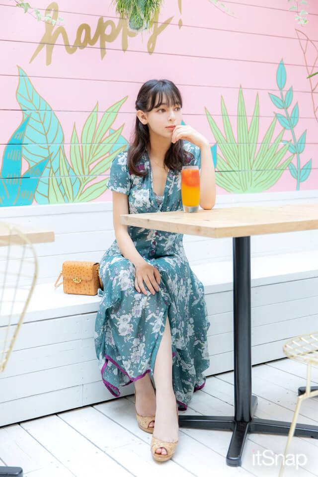 慶應義塾大学一年、モデル、タレント・世良マリカさん/18歳(160cm)