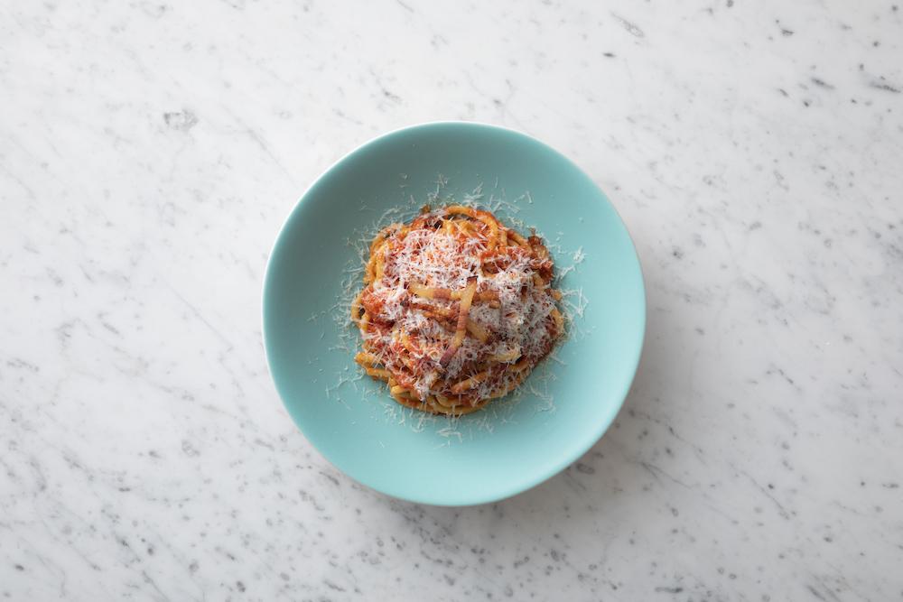 イタリア・ラツィオ州アマトリーチェ由来の辛味トマトソース ビゴリ