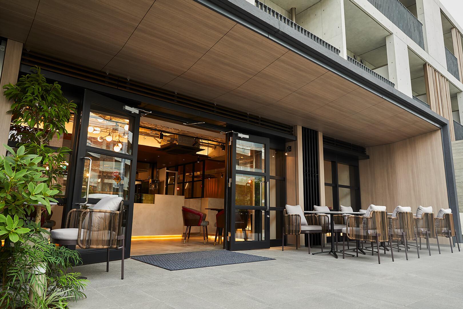 & OIMO TOKYO CAFE 中目黒店の外観