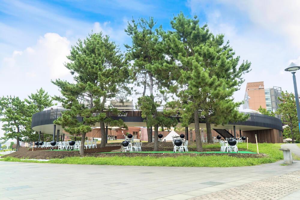 DREAM DOOR YOKOHAMA HAMMERHEAD(ドリームドア横浜ハンマーヘッド)のツリーランドサークル