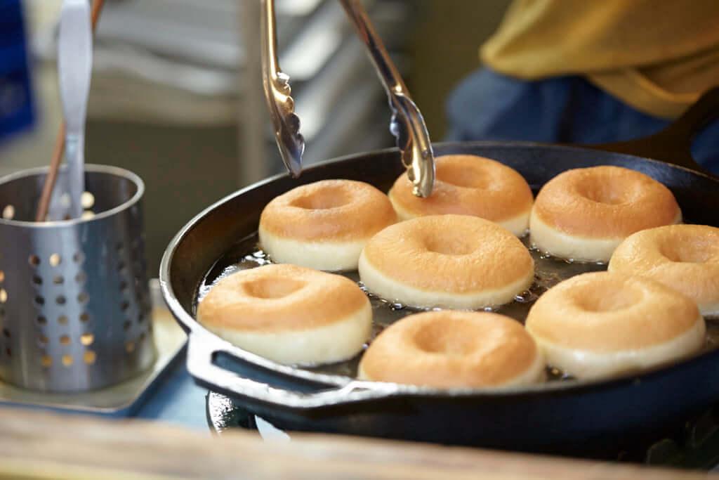 HIGUMA Doughnuts × Cofffee Wrights表参道 冷凍ドーナツ