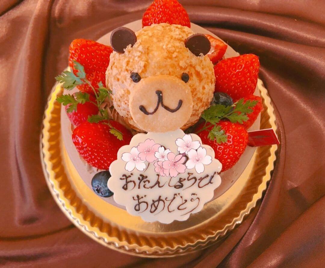 武蔵小山「Patisserie Tout le Monde(パティスリー トゥルモンド)」の誕生ケーキ