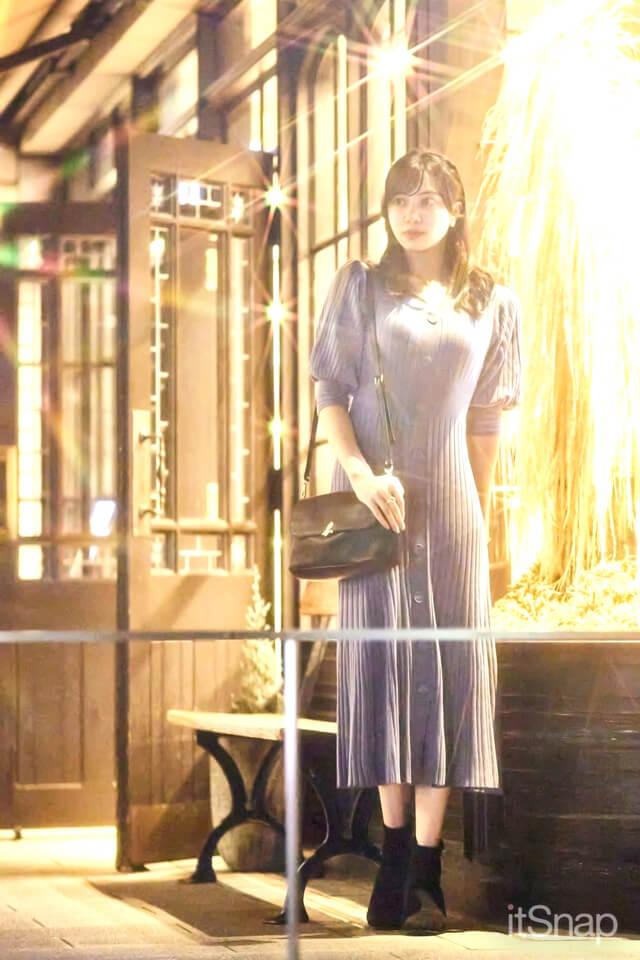 会社員、フリーモデル・横田絵玲奈サン/24歳(167cm)