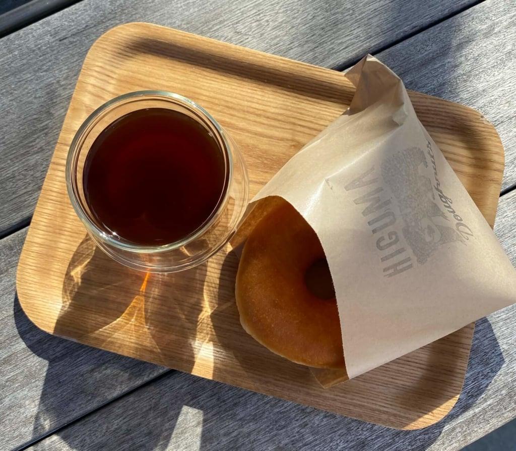HIGUMA Doughnuts × Cofffee Wrights表参道